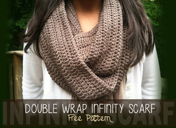 Free Patterns To And Crochet Infinity Scarf : Double Wrap Infinity Scarf (Free Pattern!) Little ...