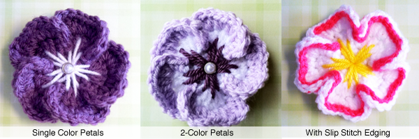 5 Petal Tropical Flower Crochet Pattern (Free Pattern!) | Little ...