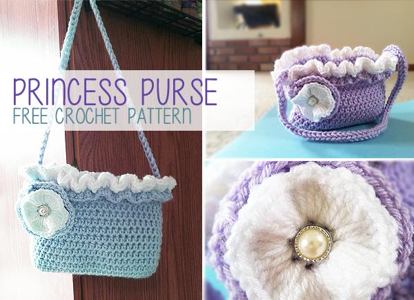 Princess purse free crochet pattern little monkeys crochet little monkeys crochet - Prinses pure ...