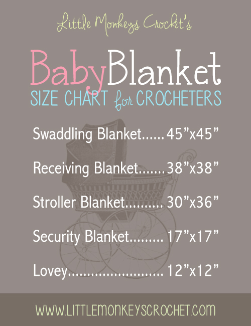 So manySo manybaby blanket sizescan be found in different markets. The perfect choice may be elusive for the first-time parent. But, in terms of considering the