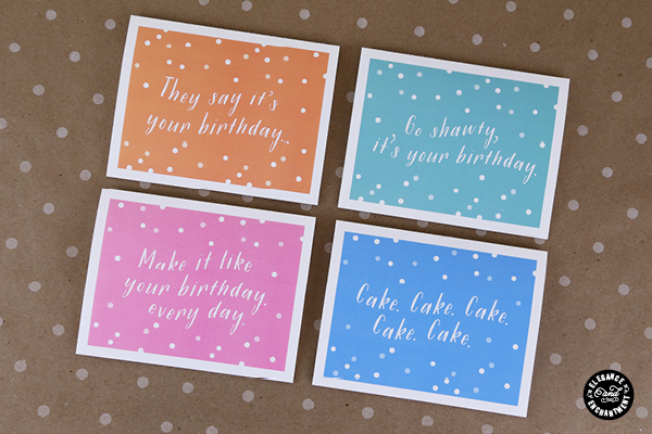 Printable Birthday Cards | Elegance and Enchantment