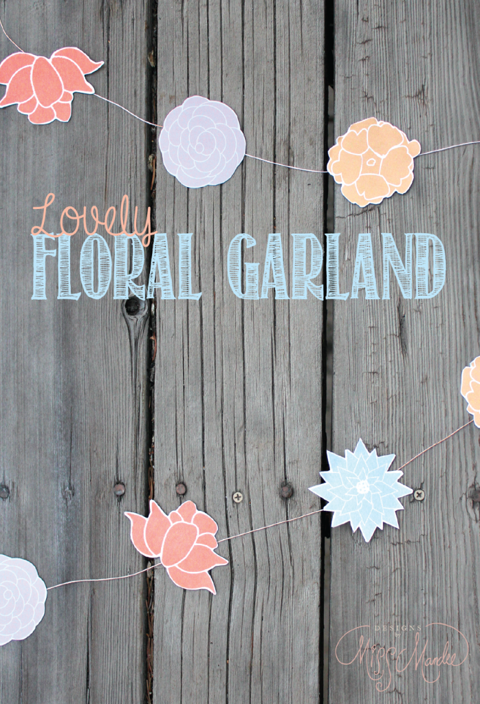 Lovely Floral Garland | Designs by Miss Mandee