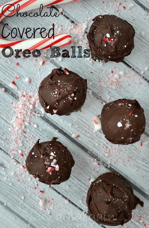 Chocolate Covered Oreo Balls