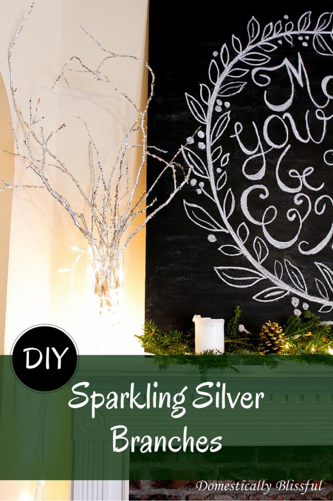 Sparkling Silver Branches