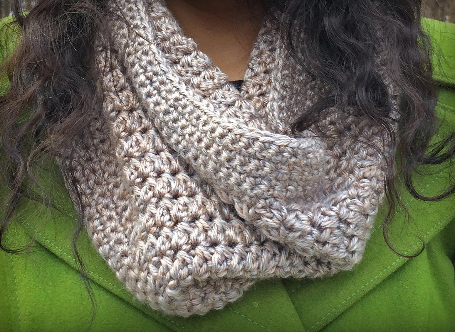 The Sandy Cowl Little Monkeys Crochet