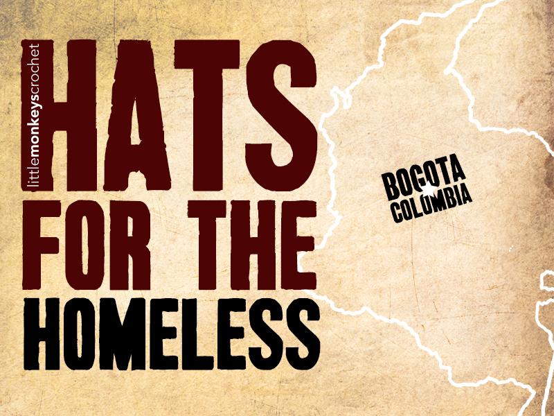 Hats for the Homeless 2015 Little Monkeys Crochet