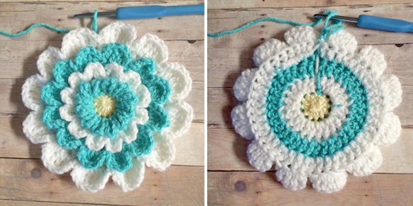 Little Girl's Wildflower Purse  |  Free Crochet Pattern by Little Monkeys Crochet