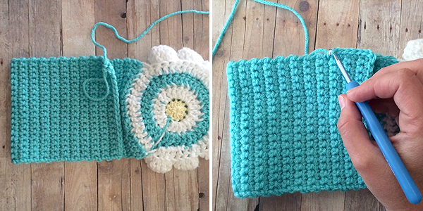 Little Girl\'s Wildflower Purse (Free Pattern) | Little Monkeys Crochet