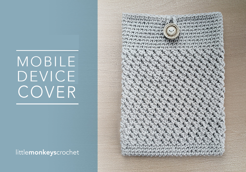 Mobile Device Cover Free Pattern Little Monkeys Crochet