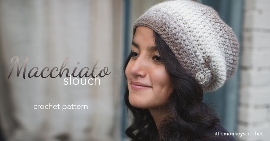 Macchiato Slouch Crochet Pattern Little Monkeys Crochet
