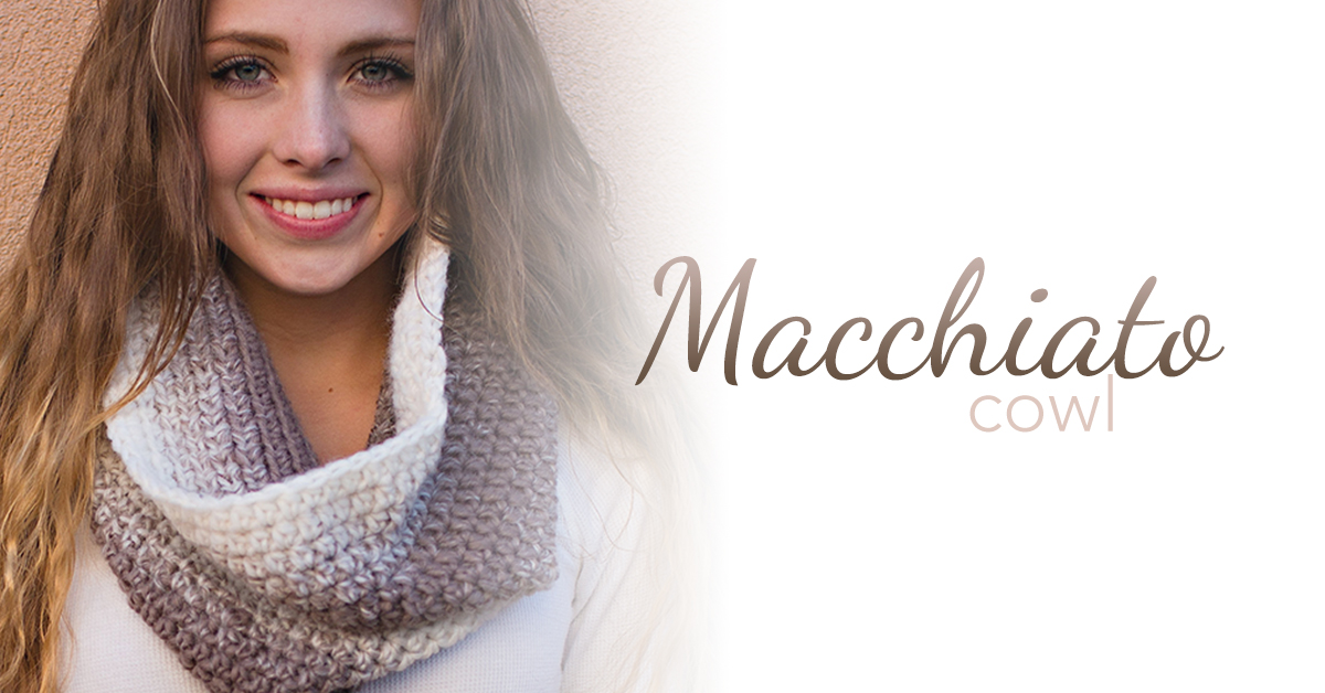 Macchiato Cowl Crochet Pattern Little Monkeys Crochet