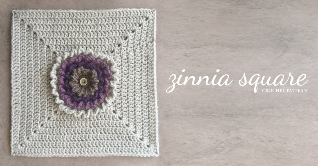 Crochet Zinnia Flower Pattern : Neverending Zinnia 12