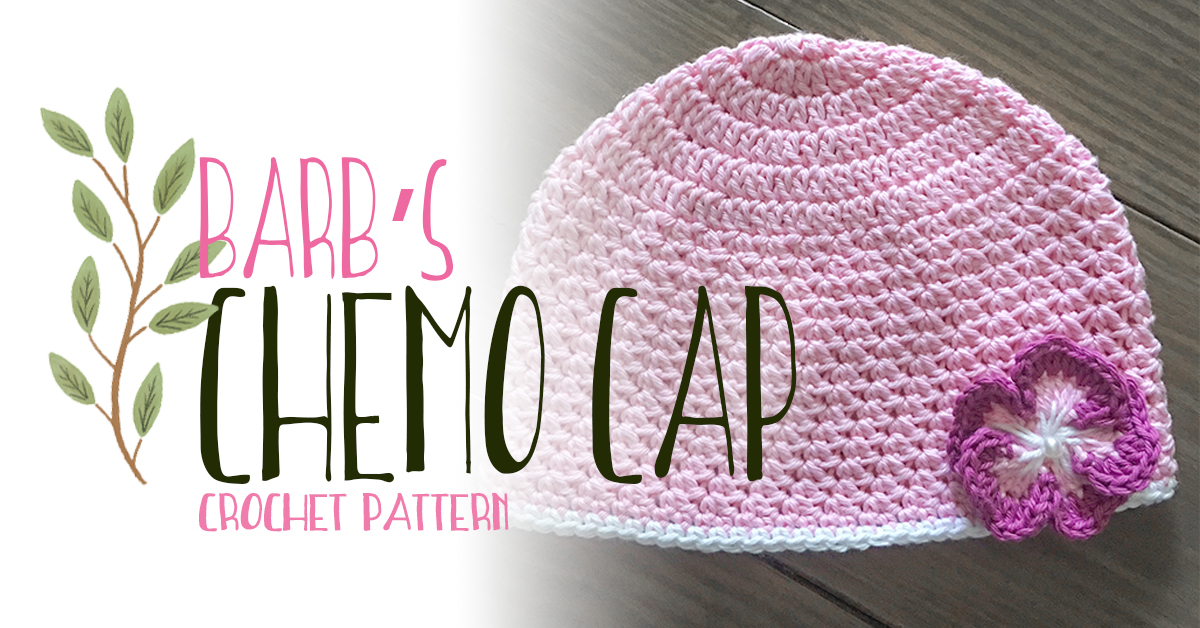 Barbs Chemo Cap Crochet Pattern Little Monkeys Crochet