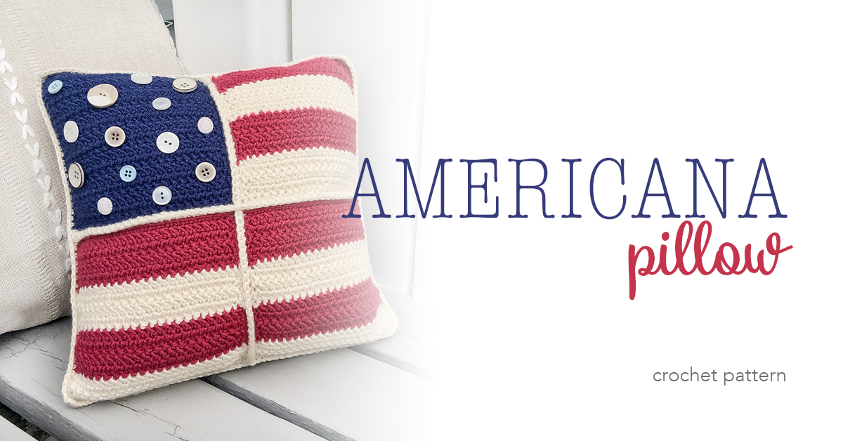 Americana Crochet Pillow Little Monkeys Crochet
