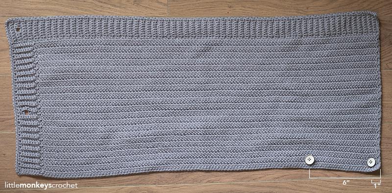Herringbone buttoned cowl pattern little monkeys crochet herringbone buttoned cowl crochet pattern free button cowl crochet pattern by little monkeys crochet dt1010fo