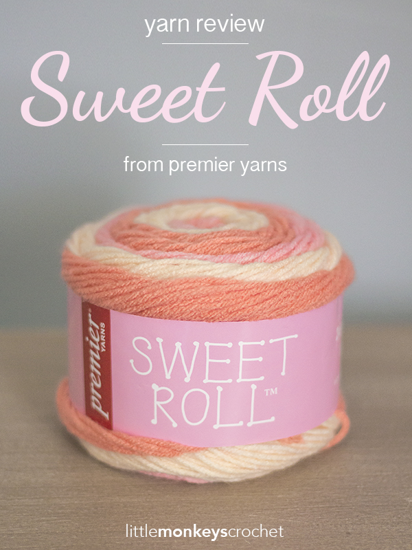 Crochet Patterns For Sweet Roll Yarn : Yarn Review: Sweet Roll Little Monkeys Crochet